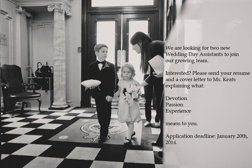 Alicia Keats Weddings hiring ad web