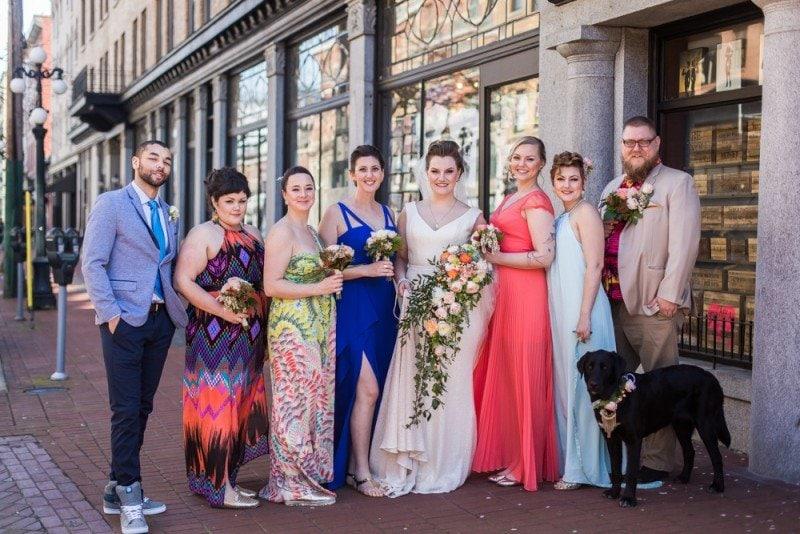 Gastown wedding vancouver