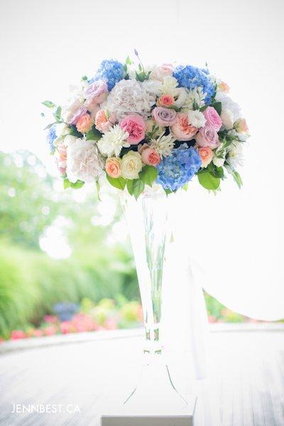 Granville Island Florist wedding