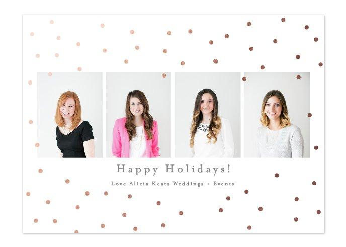 Happy Holidays Alicia Keats Weddings