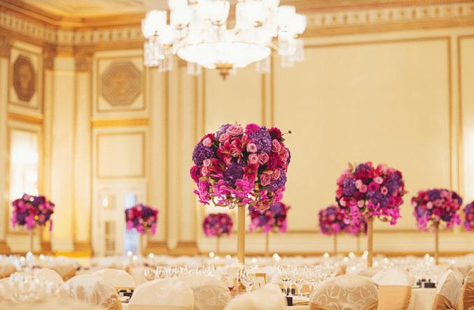 Hotel Vancouver wedding ballroom