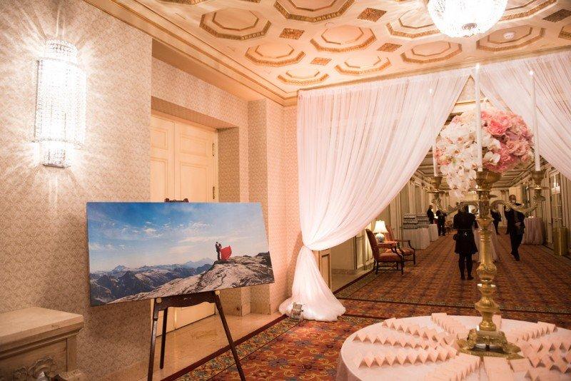 hotel-vancouver-wedding-engagement-shoot-lobby-decor