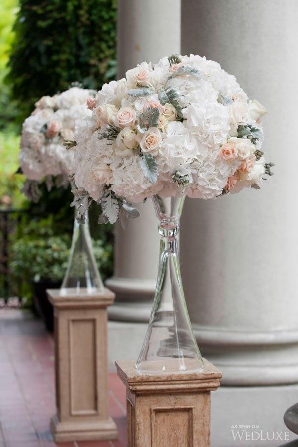 Hycroft ceremony flowers