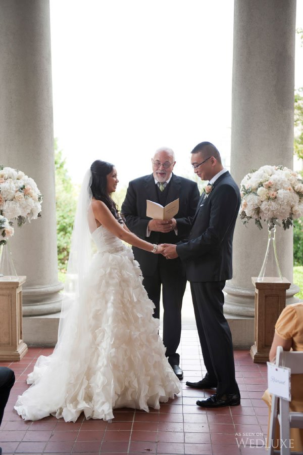Hycroft wedding ceremony