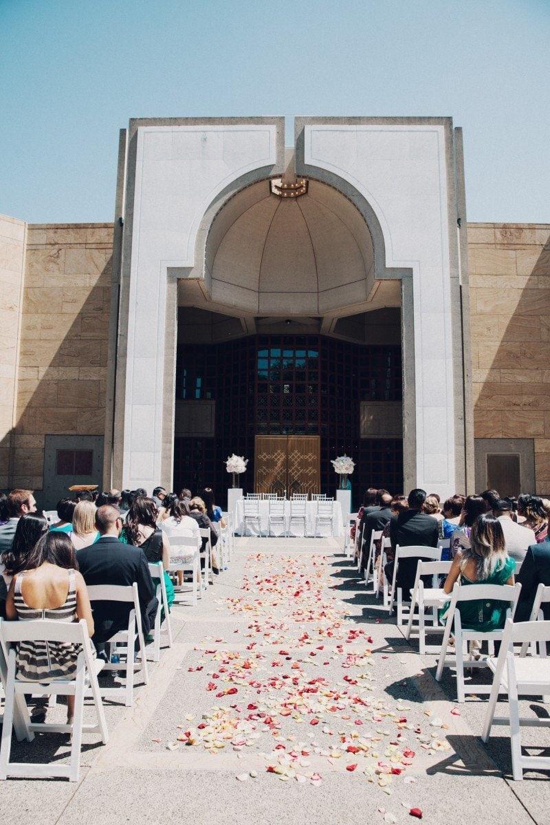 Ismaili Jamatkhana Center wedding Vancouver 1