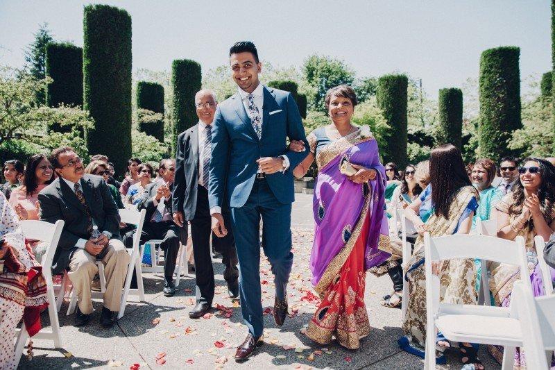 Ismaili Jamatkhana Center wedding Vancouver 3