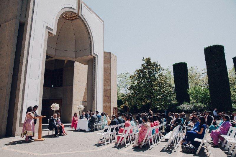 Ismaili Jamatkhana Center wedding Vancouver 8