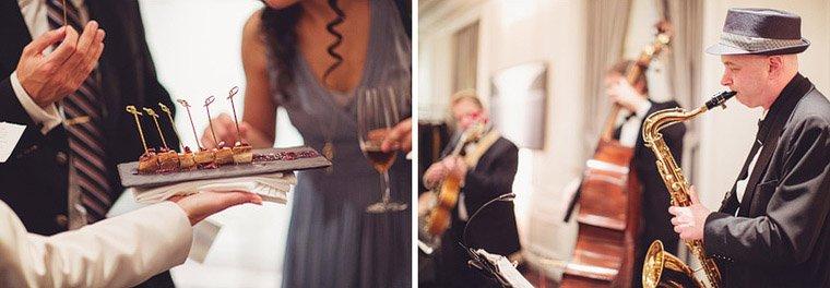 Jazz music wedding