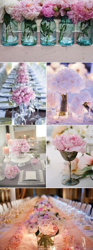 Peonies wedding pink