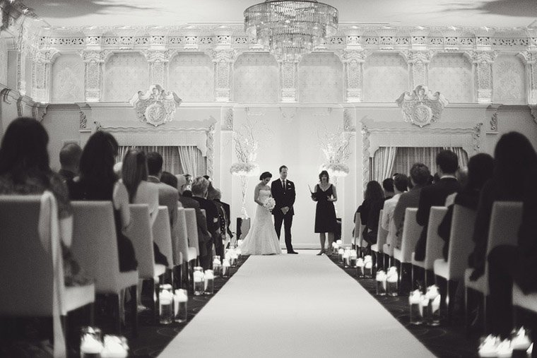 Rosewood Hotel Georgia Wedding Ceremony Ballroom