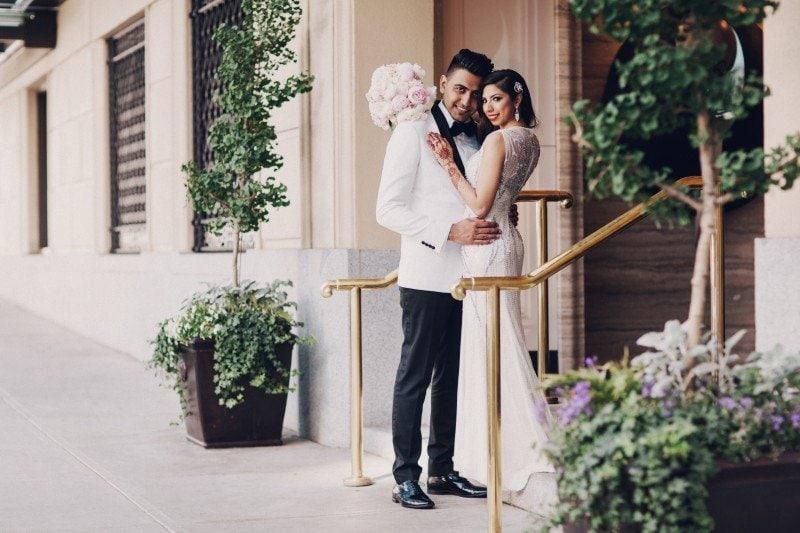 Rosewood Hotel Georgia wedding 6