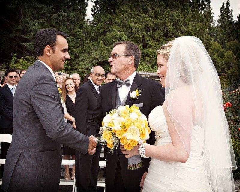 UBC Rose Garden Wedding