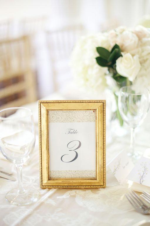Upright decor wedding