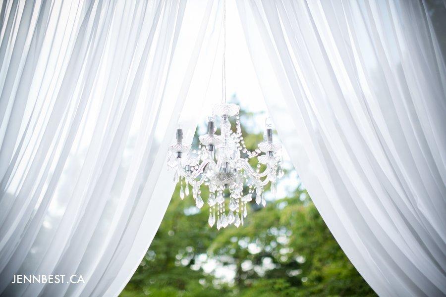 Upright decor weddings