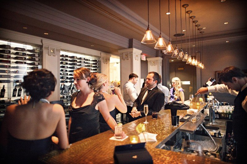 Vancouver Club Bar and Grill wedding