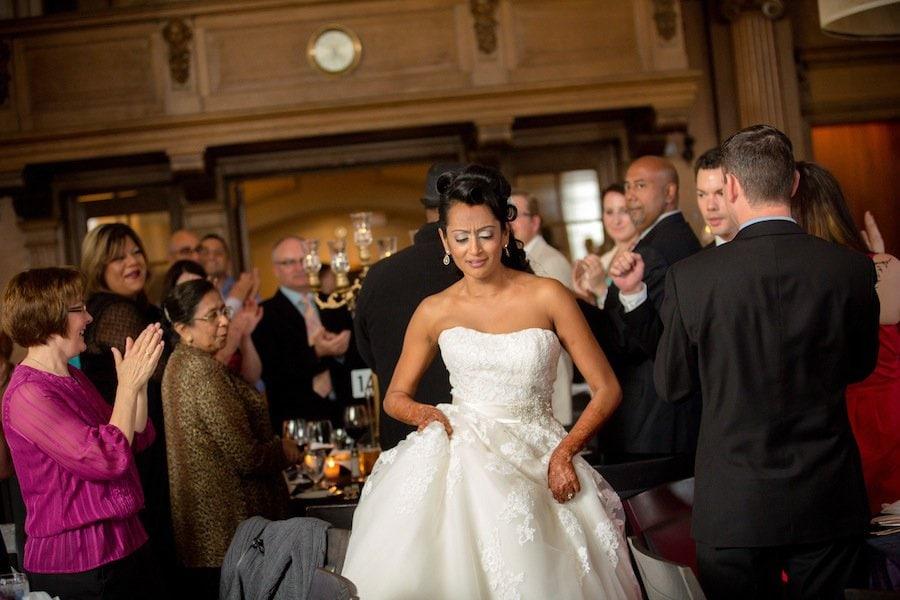 Vancouver Club ballroom wedding