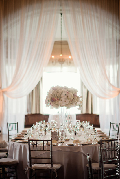 Vancouver Club draping