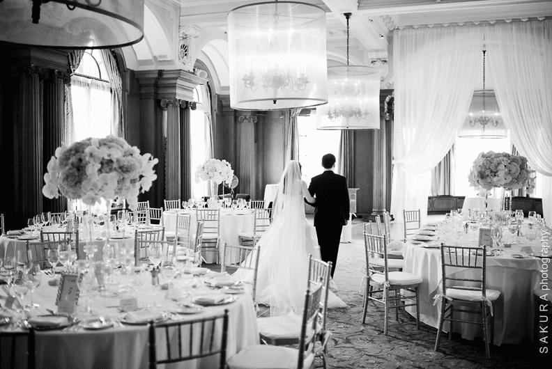 Vancouver Club wedding ballroom