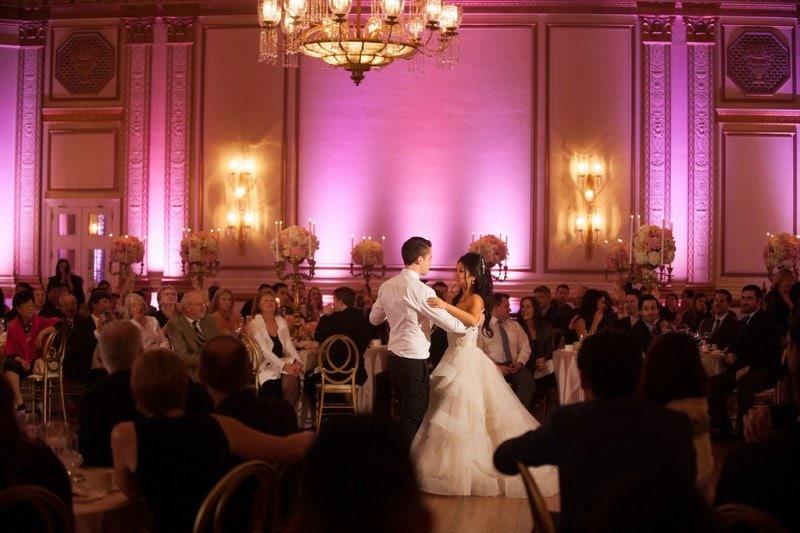 wedding-hotel-vancouver-first-dance-ballroom