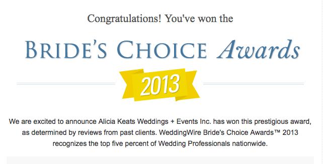 Wedding Wire Alicia Keats