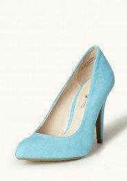 blue wedding shoes retro