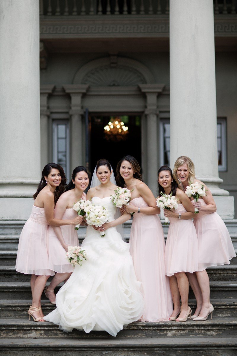 bridal party hycroft manor