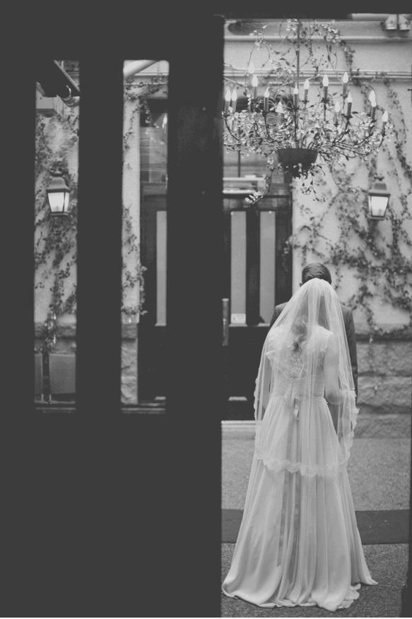 bride lace veil