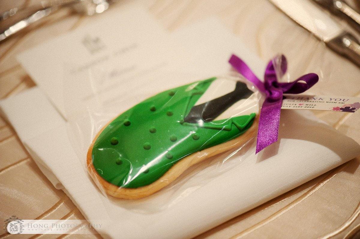 cookie wedding favour