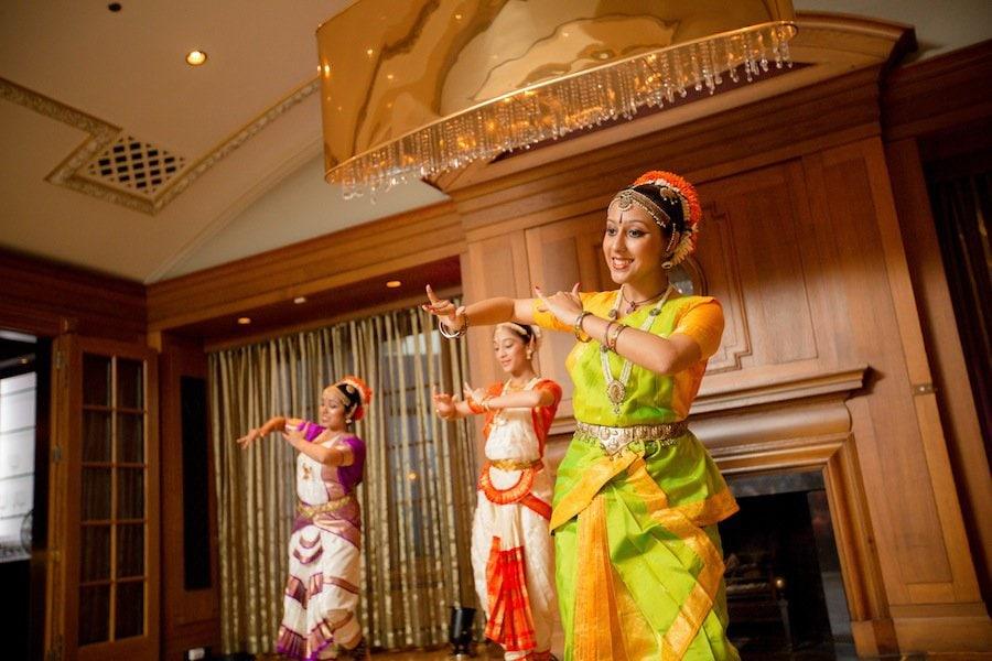 dancers indian wedding
