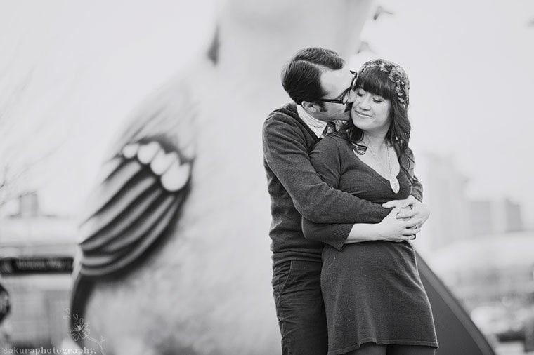 engagement-session-olympic-village-Sakura wedding Photographer
