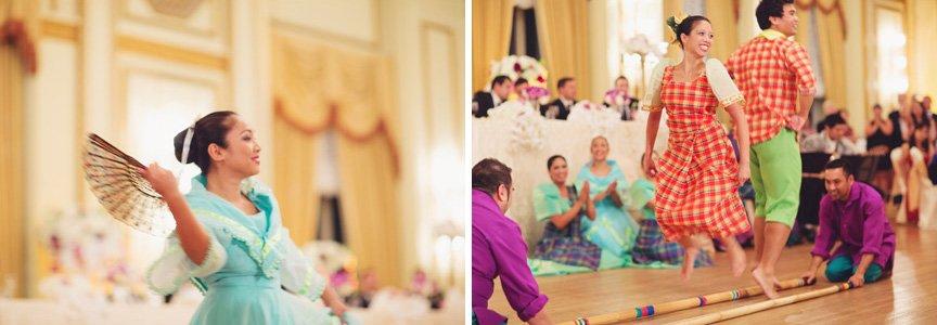 filipino wedding filipino dancers
