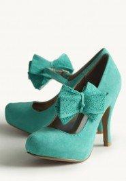 green wedding shoes vintage