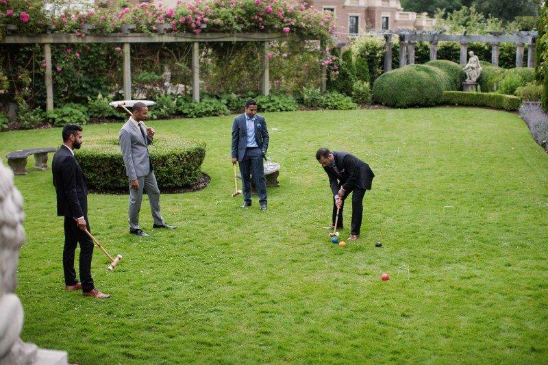 grooms croquet