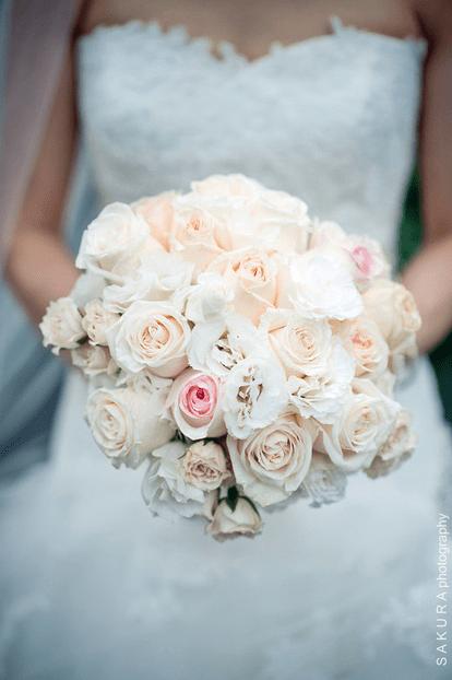 pink and blush wedding