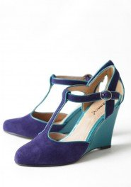 retro wedding shoe