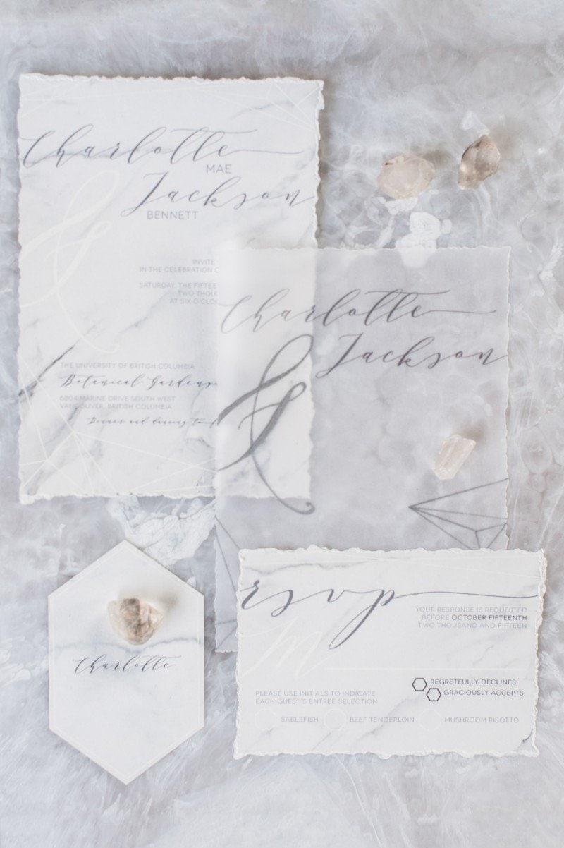 rural wedding invitation