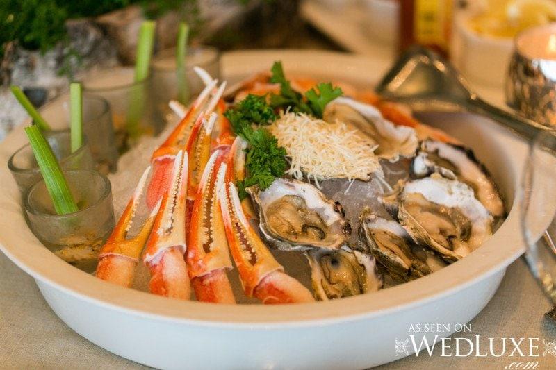 seafood wedding