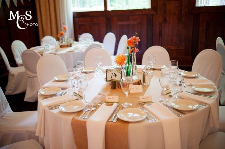 simple decor wedding