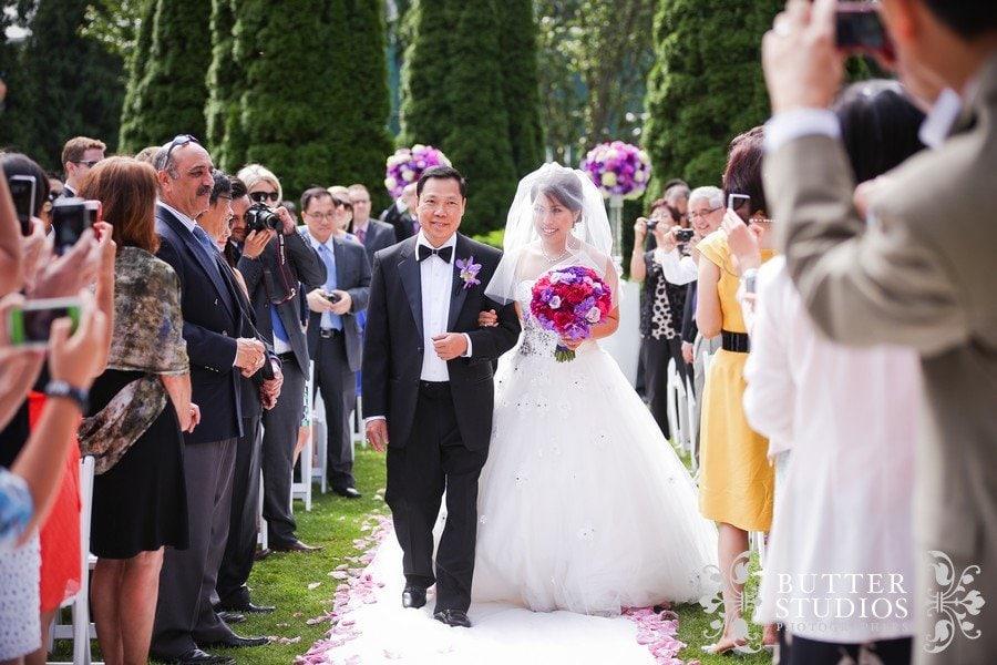 stanley park pavilion wedding ceremony 2