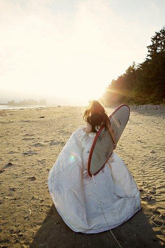 surf bride tofino