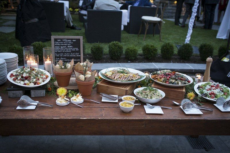 vancouver wedding catering