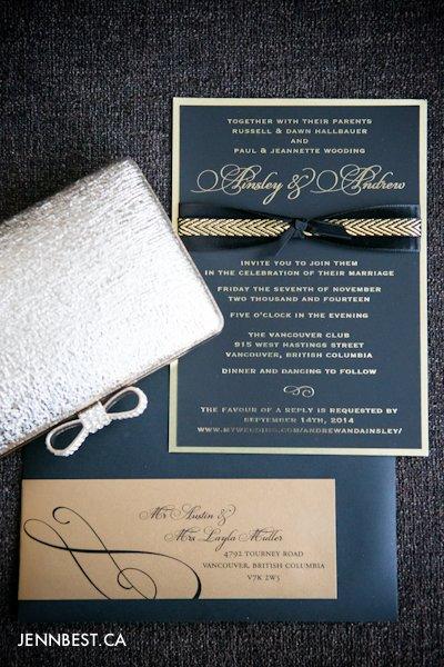 vancouver wedding invite