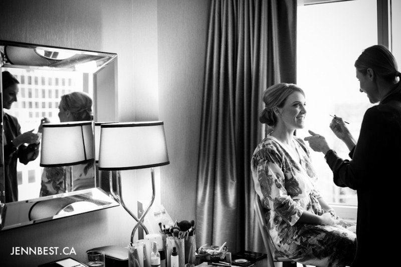vancouver wedding makeup