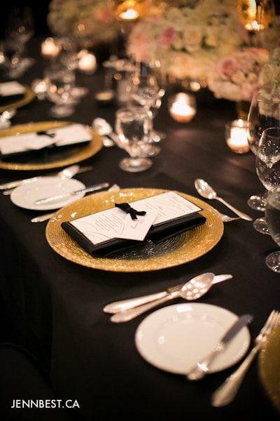 vancouver wedding menu