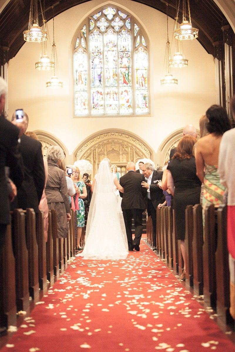 wedding Canadian Memorial Church