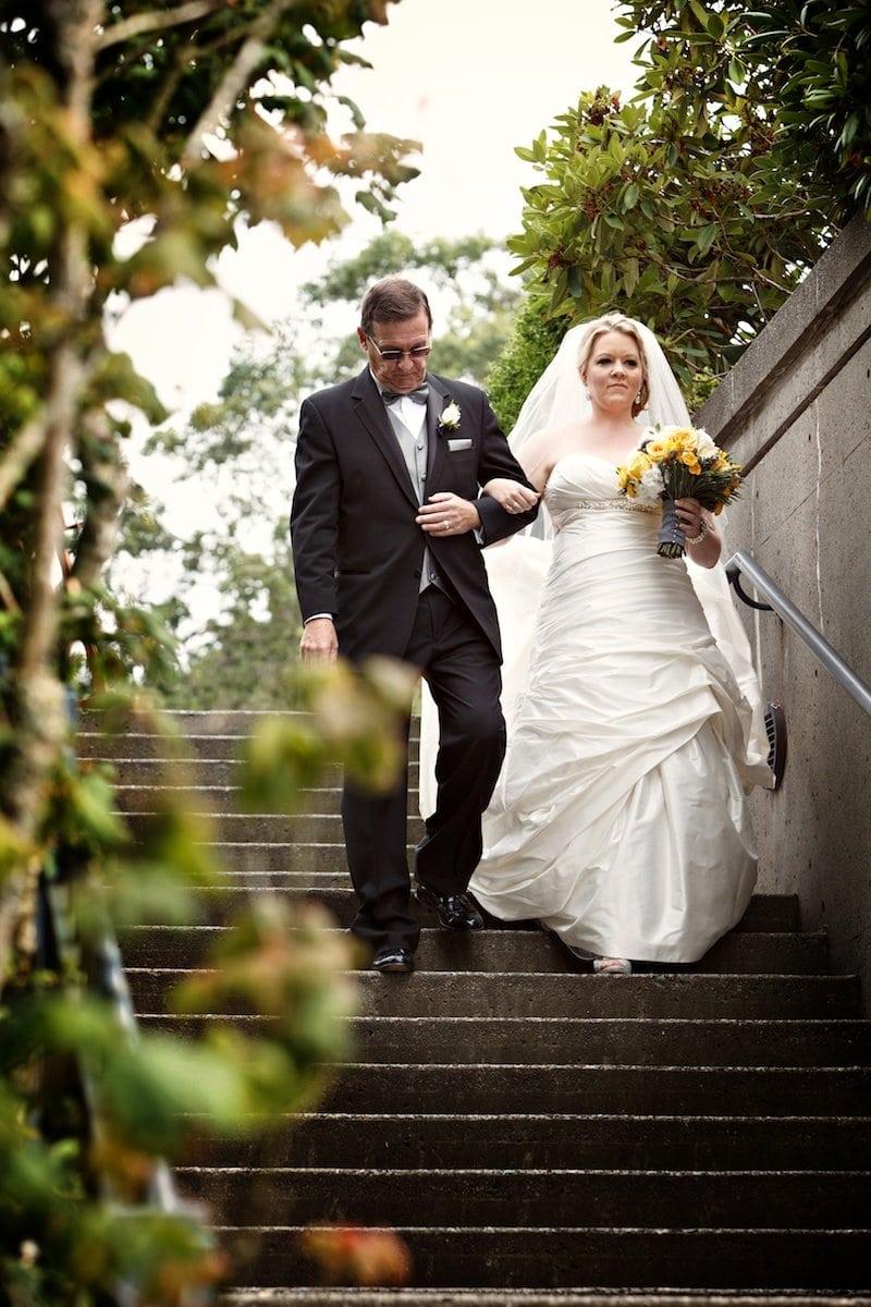wedding UBC Rose Garden