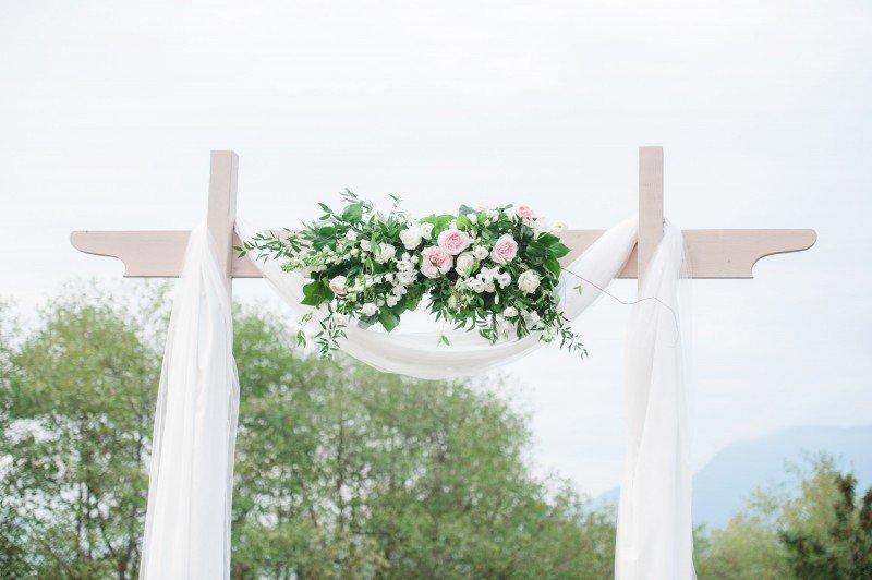 wedding altar flower