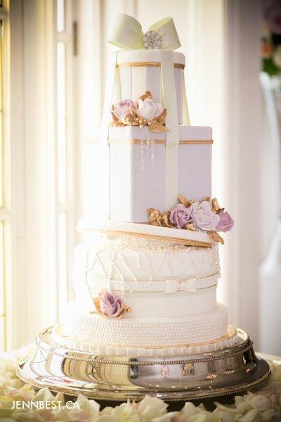wedding cake Anna Elizabeth cakes