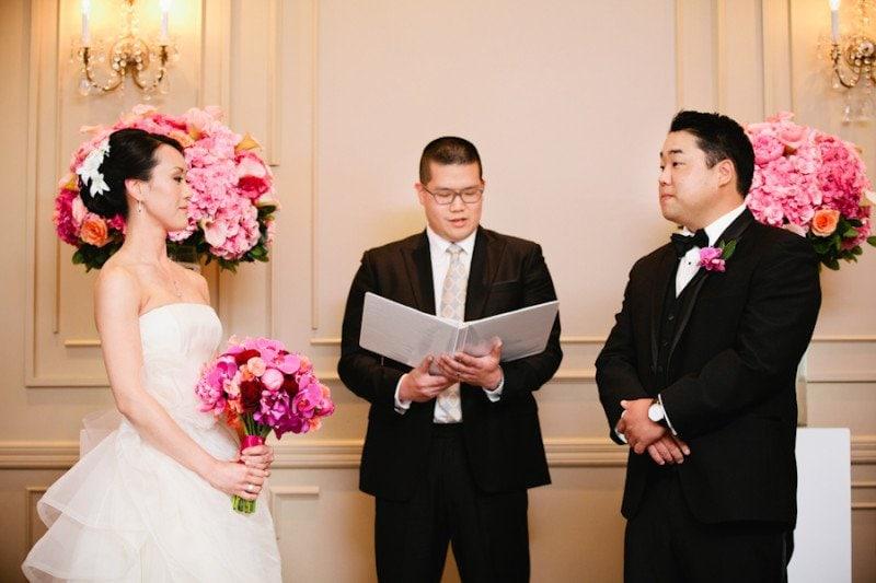 wedding ceremony TCC Alicia Keats wedding planner