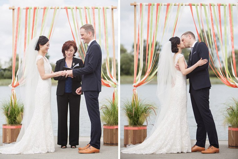 wedding ceremony hipster